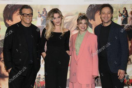 Gabriele Muccino, Micaela Ramazzotti, Emma Marrone and Claudio Santamaria