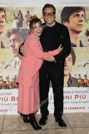 Emma Marrone and Gabriele Muccino