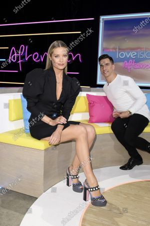 Laura Whitmore and Russell Kane