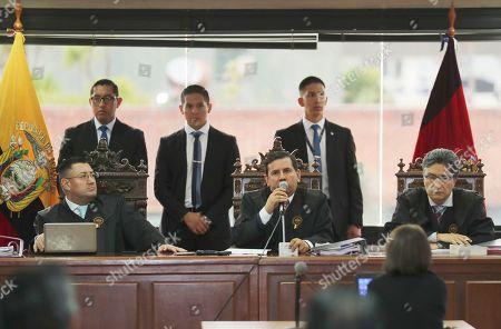 Editorial image of Ecuador Bribery Trial - 10 Feb 2020