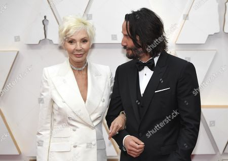 Patricia Taylor and Keanu Reeves