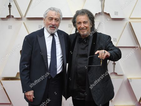 Robert De Niro and Al Pacino