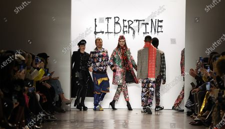 Editorial image of Libertine - Runway - New York Fashion Week Fall/Winter, USA - 10 Feb 2020