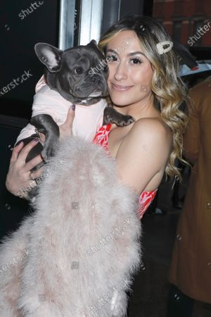 Michelle Madonna and her dog Magnolia