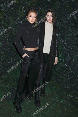 Delilah Hamlin and Amelia Gray Hamlin