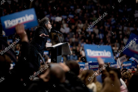 Editorial picture of Election 2020 Bernie Sanders, Durham, USA - 10 Feb 2020