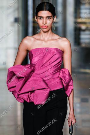 Editorial picture of Oscar De La Renta show, Runway, Fall Winter 2020, New York Fashion Week, USA - 10 Feb 2020