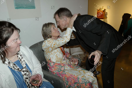 Editorial photo of Angela Flowers '50 years at the heart of British art' exhibition, Shoreditch, London, UK  - 10 Feb 2020
