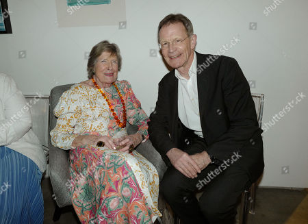 Angela Flowers and Sir Nicholas Serota
