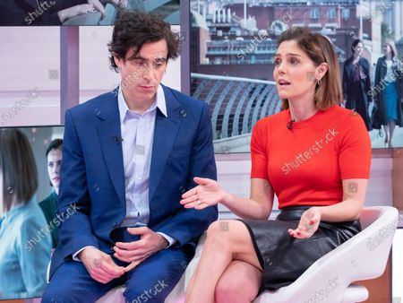 Stephen Mangan and Annabel Scholey