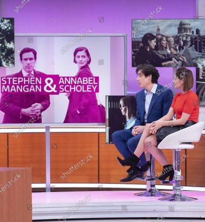 Editorial photo of 'Good Morning Britain' TV show, London, UK - 11 Feb 2020