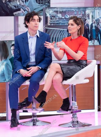 Stock Image of Stephen Mangan and Annabel Scholey