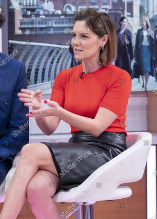 Editorial picture of 'Good Morning Britain' TV show, London, UK - 11 Feb 2020