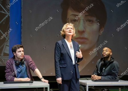 Editorial image of 'The Haystack' Play by Al Blyth performed at the Hampstead Theatre, London, UK - 06 Feb 2020