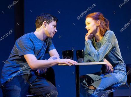 Stock Picture of Oliver Johnstone as Neil, Rona Morison as Cora