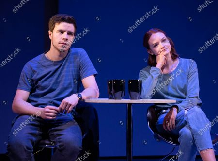 Stock Image of Oliver Johnstone as Neil, Rona Morison as Cora
