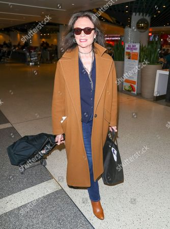 Editorial picture of Jacqueline Bisset at LAX International Airport, Los Angeles, USA - 10 Feb 2020