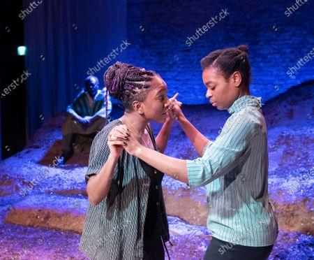 Stock Photo of Cherrelle Skeete as Tara, Ibinabo Jack as Leah