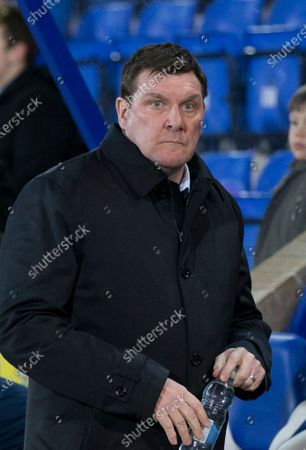 12th February 2020; McDairmid Park, Perth, Perth and Kinross, Scotland; Scottish Premiership Football, St Johnstone versus Motherwell; St Johnstone  manager Tommy Wright