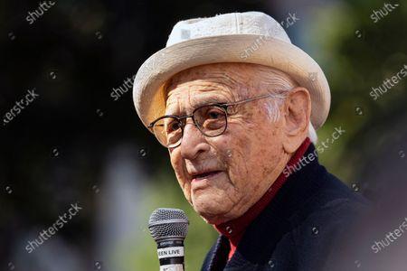 Norman Lear speaks