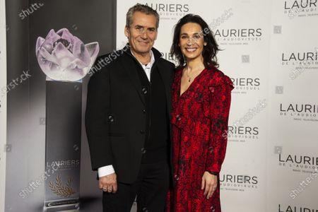 Stock Picture of Daniel Gelin, Marie Drucker