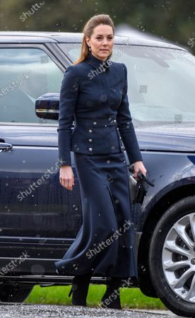 Catherine Duchess of Cambridge visits the Defence Medical Rehabilitation Centre Stanford Hall.
