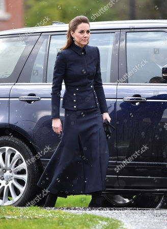 Catherine Duchess of Cambridge visit the Defence Medical Rehabilitation Centre Stanford Hall.