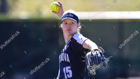 Villanova outfielder Caroline Jones (15) during an NCAA softball game against Nicholls State on in Jacksonville, Fla