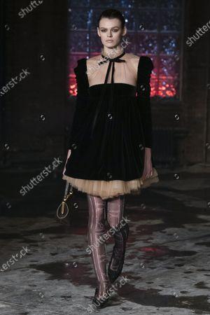 Editorial image of Khaite show, Runway, Fall Winter 2020, New York Fashion Week, USA - 11 Feb 2020