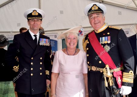 Editorial image of The naming of the warship HMS Medway at Chatham Docks, UK - 19 Sep 2019