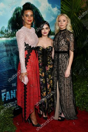Parisa Fitz-Henley, Lucy Hale and Portia Doubleday