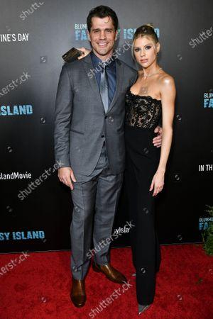 Jeff Wadlow and Charlotte McKinney