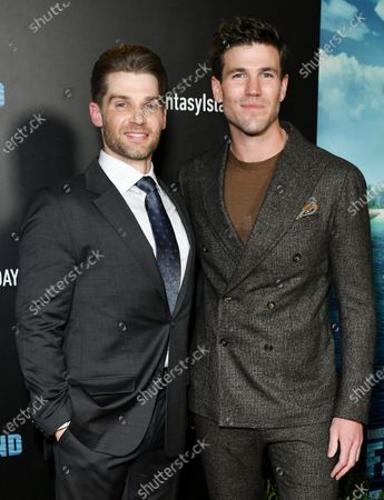 Stock Picture of Mike Vogel and Austin Stowell