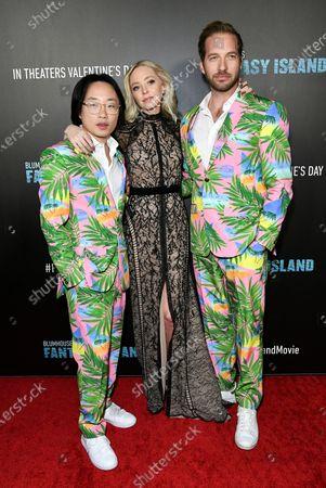 Jimmy O. Yang, Portia Doubleday and Ryan Hansen