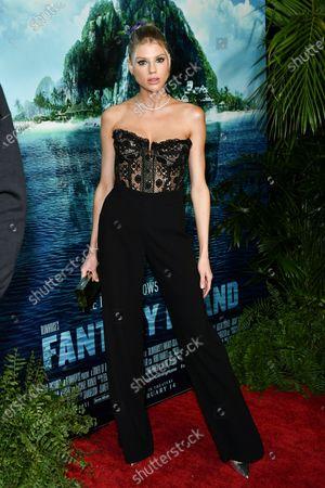 Editorial image of 'Fantasy Island' film premiere, Arrivals, AMC Century Center 15, Los Angeles, USA - 11 Feb 2020