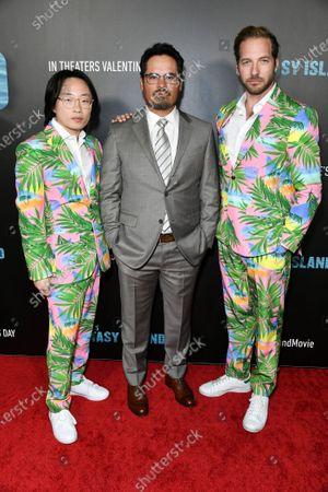 Jimmy O. Yang, Michael Pena and Ryan Hansen