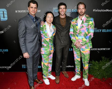 Jeff Wadlow, Jimmy O. Yang, Austin Stowell and Ryan Hansen