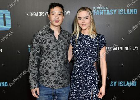 Hayden Szeto and Kari Perdue