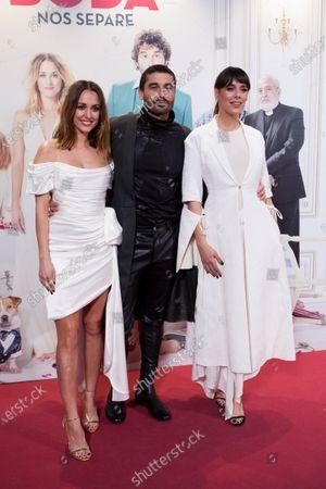 Silvia Alonso, Alex Garcia and Belen Cuesta