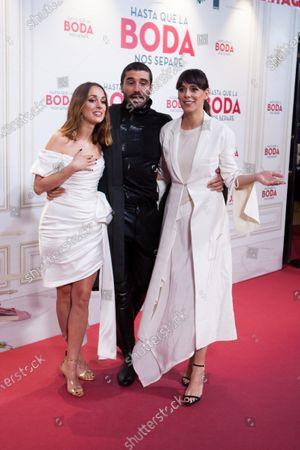 Silvia Alonso, Alex Garcia, Belen Cuesta