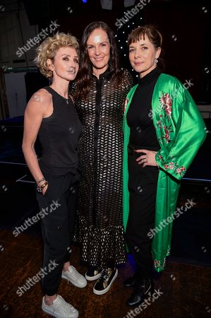 Stock Photo of Jo Manoukian, Darcey Bussell and guest