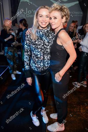 Stock Picture of Noelle Reno and Jo Manoukian