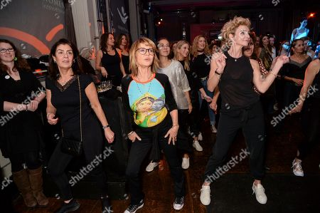 Stock Image of Lulu, Jo Manoukian and guests