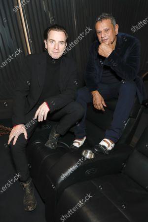 Ewan McGregor and Naeem Khan