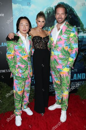 Jimmy O. Yang, Charlotte McKinney and Ryan Hansen