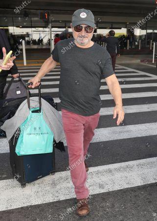Editorial photo of Kevin Pollak at Los Angeles International Airport, USA - 11 Feb 2020
