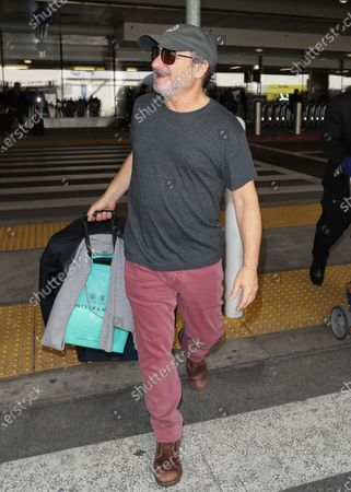 Editorial picture of Kevin Pollak at Los Angeles International Airport, USA - 11 Feb 2020