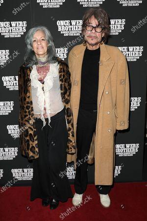 Mara Hennessey and David Johansen