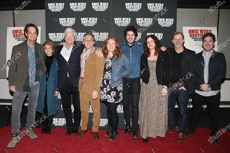 Daniel Roher (Director) with Filmmakers and Producers of ONCE WERE BROTHERS