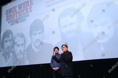 Editorial photo of The New York Premiere of 'ONCE WERE BROTHERS: ROBBIE ROBERTSON AND THE BAND', USA - 11 Feb 2020